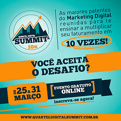 #24 – QUARTEL DIGITAL SUMMIT: EVENTO ON-LINE E GRATUITO DE MARKETING DIGITAL