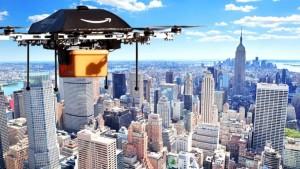 Amazon começa a testar drones para fazer suas entregas