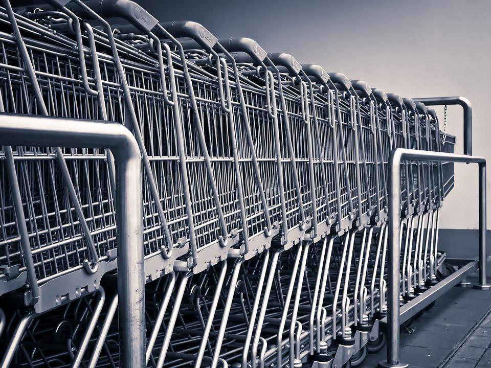 carrinho de compras market