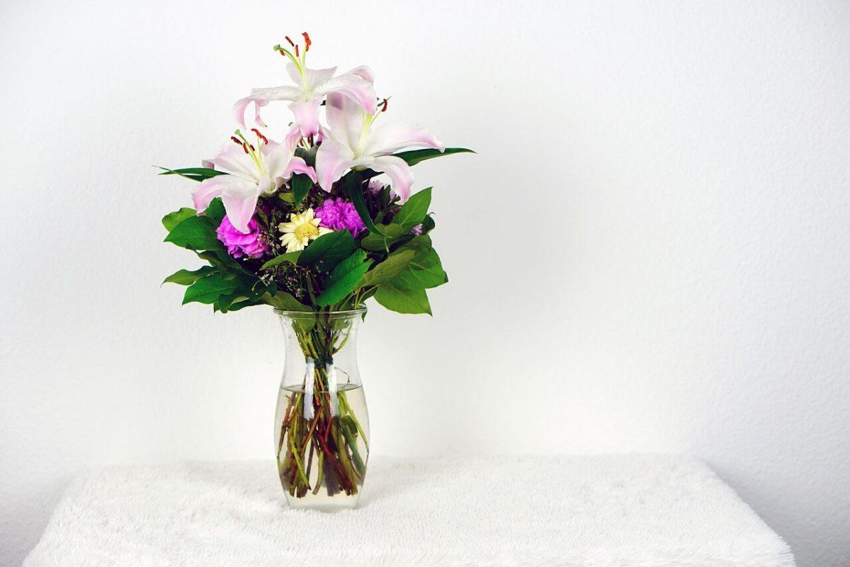 como abrir uma floricultura online - vaso