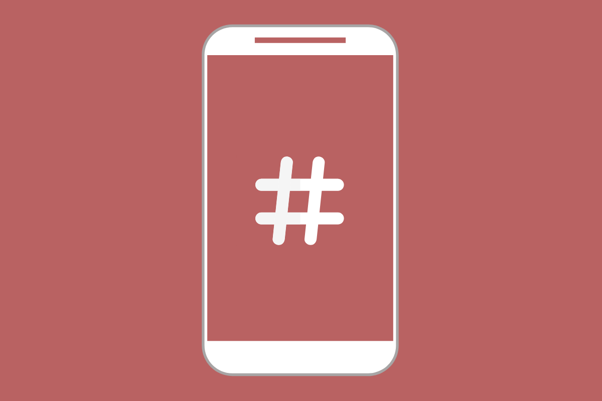 como escolher as mehores hashtags