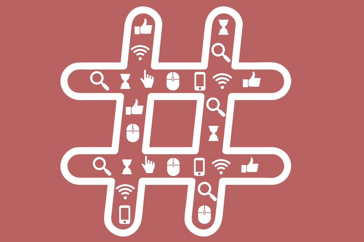 como escolher as melhores hashtags