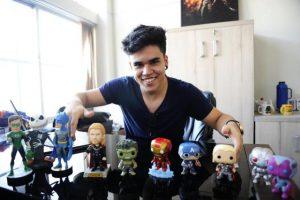 Jovem de 20 anos fatura R$5 milhões ao ano com loja nerd na internet