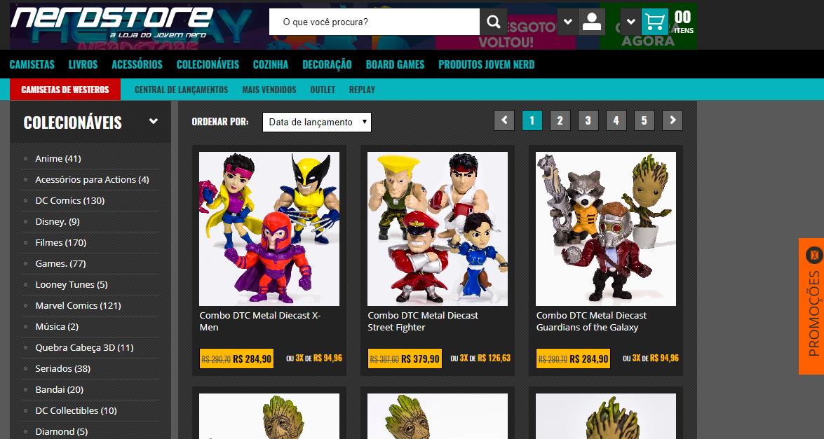 vender produtos geek na internet