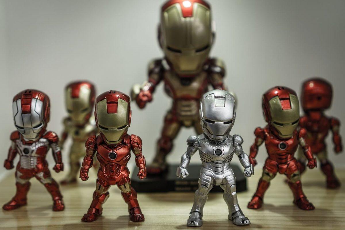 vender produtos geek na internet - homem de ferro