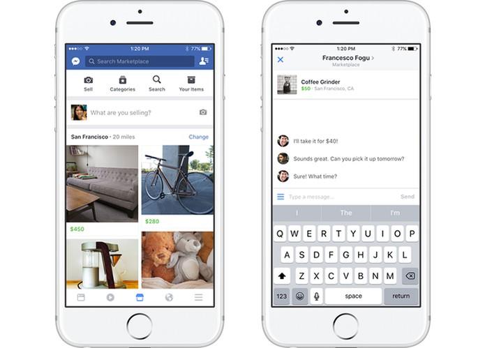 marketplace do Facebook