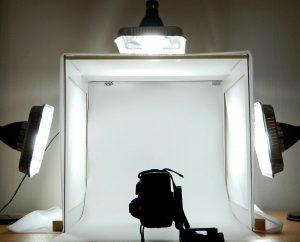 Como fazer um mini estúdio fotográfico caseiro? Passo a passo