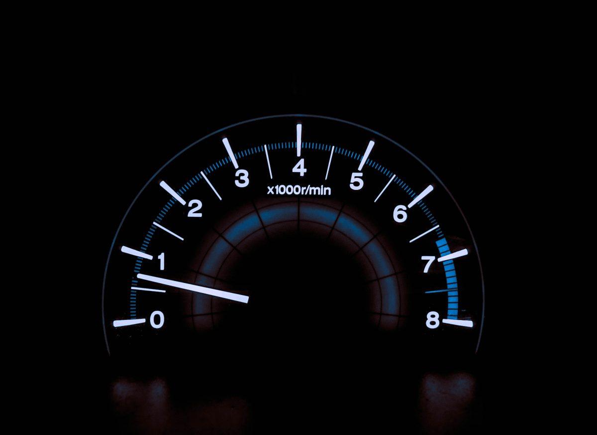 velocidade de carregamento