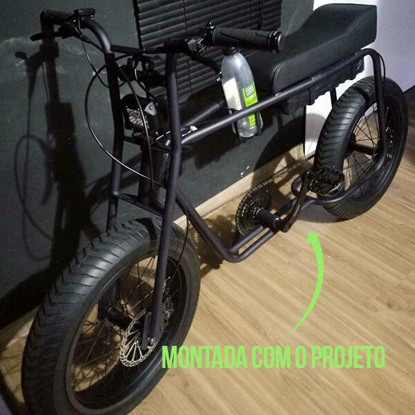 ideia inovadora bicicleta elétrica