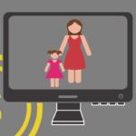 Dia das Mães - mãe com filha no Ecommerce