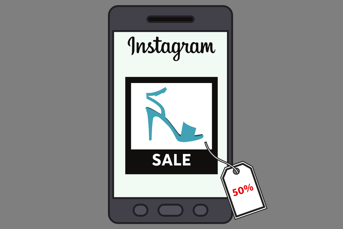 Ofertas e vender no Instagram