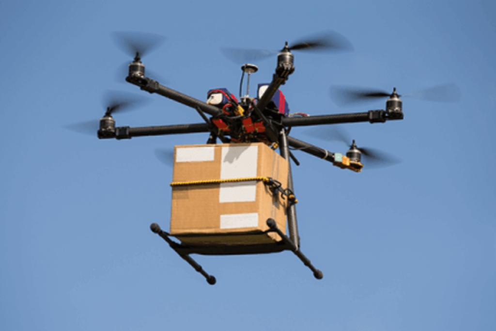 Entrega por drone
